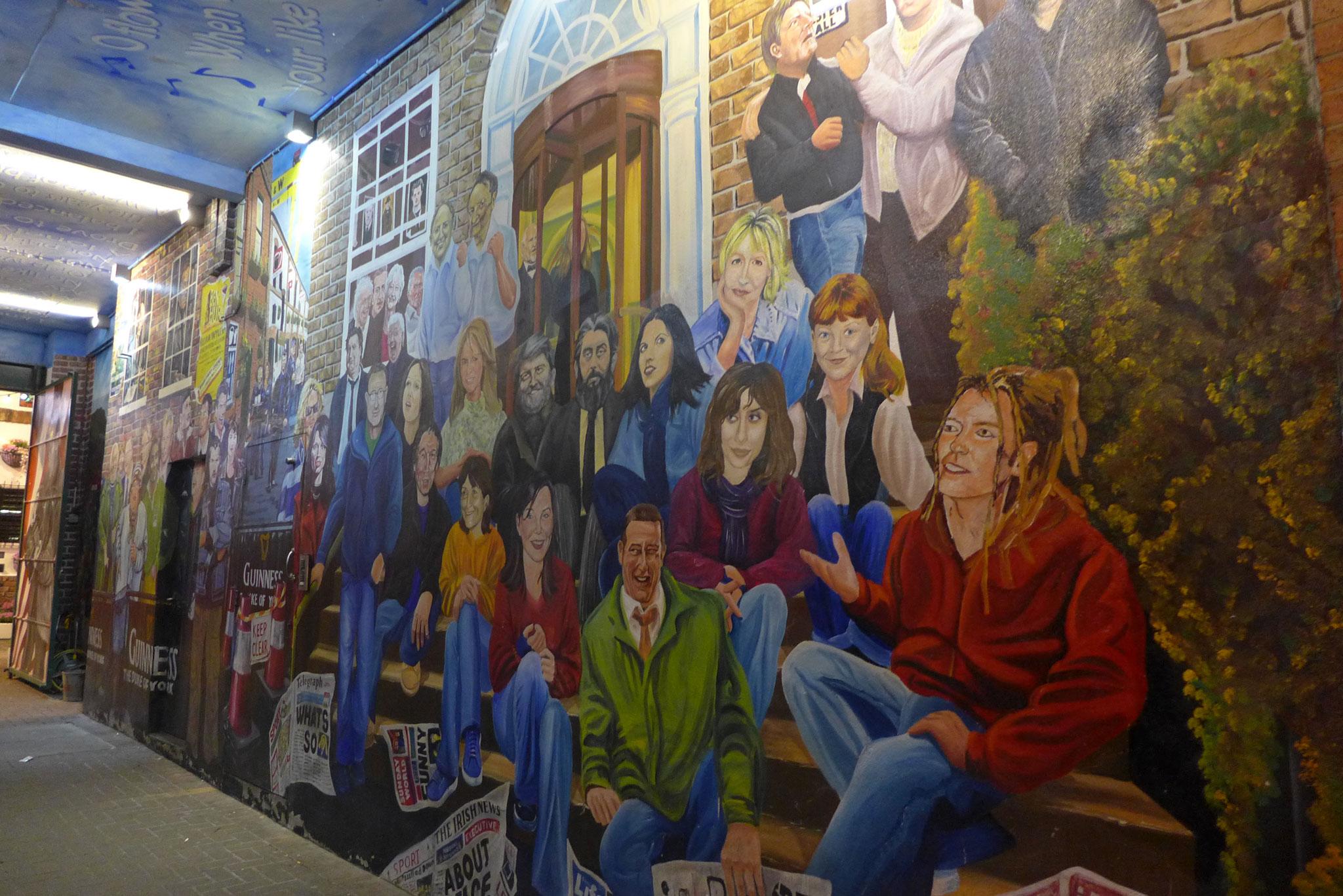 Week end en groupe belfast for Mural irlande