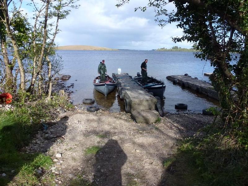 Le cordage le sentier pour la pêche